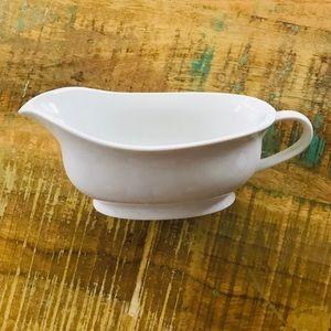 Pottery Barn Gravy Boat - White - Porcelain